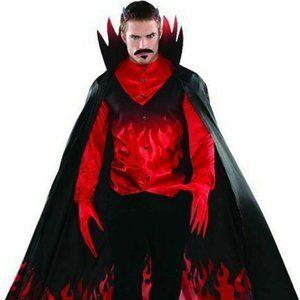 Devil Adult Plus 4 Piece Halloween Costume